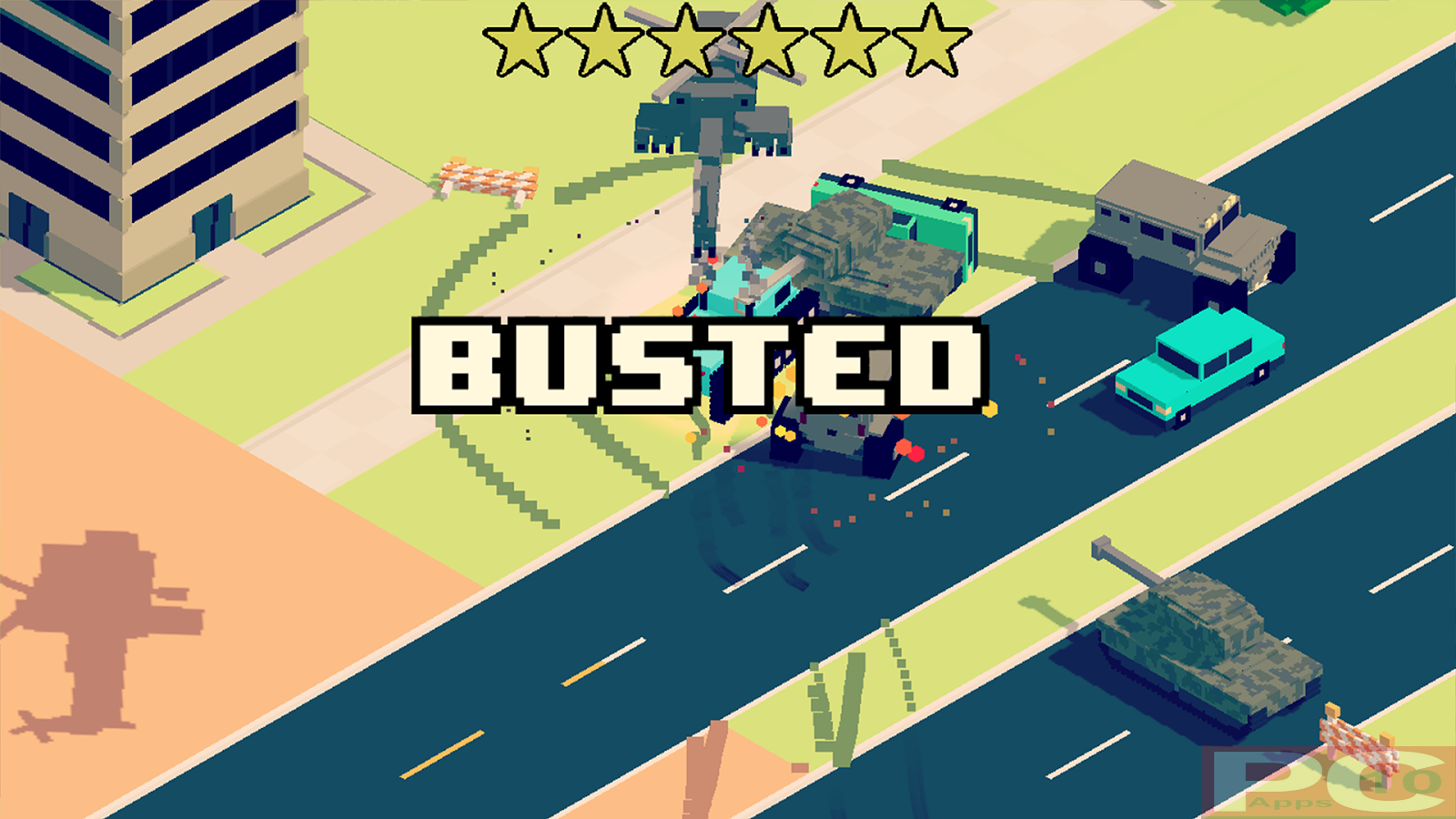 Smashy Road Wanted for PC (Windows 10/ 8/ 7 and Mac)