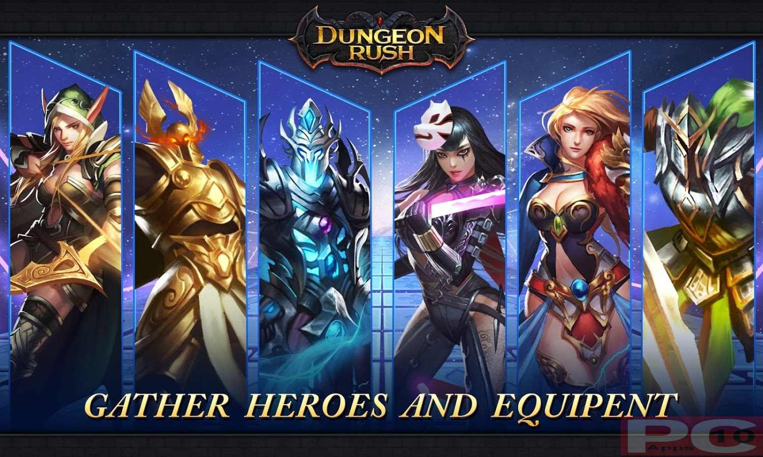 Dungeon Rush: Evolved for PC Windows (10/8/7) and MAC