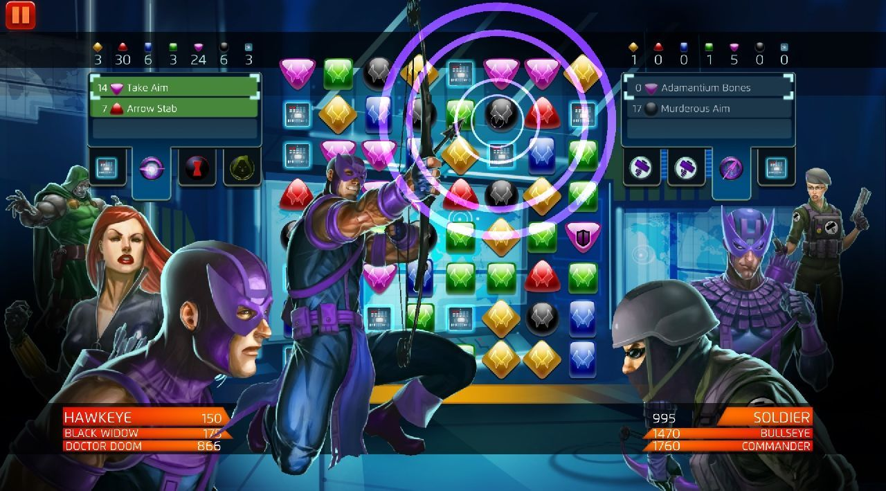 Marvel Puzzle Quest for pc