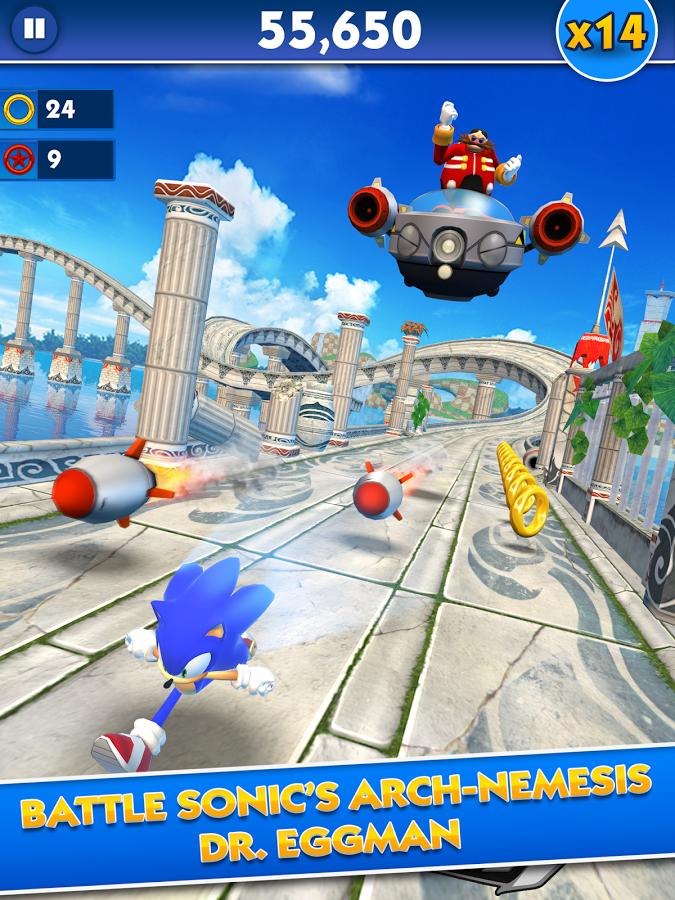 Sonic Dash pc