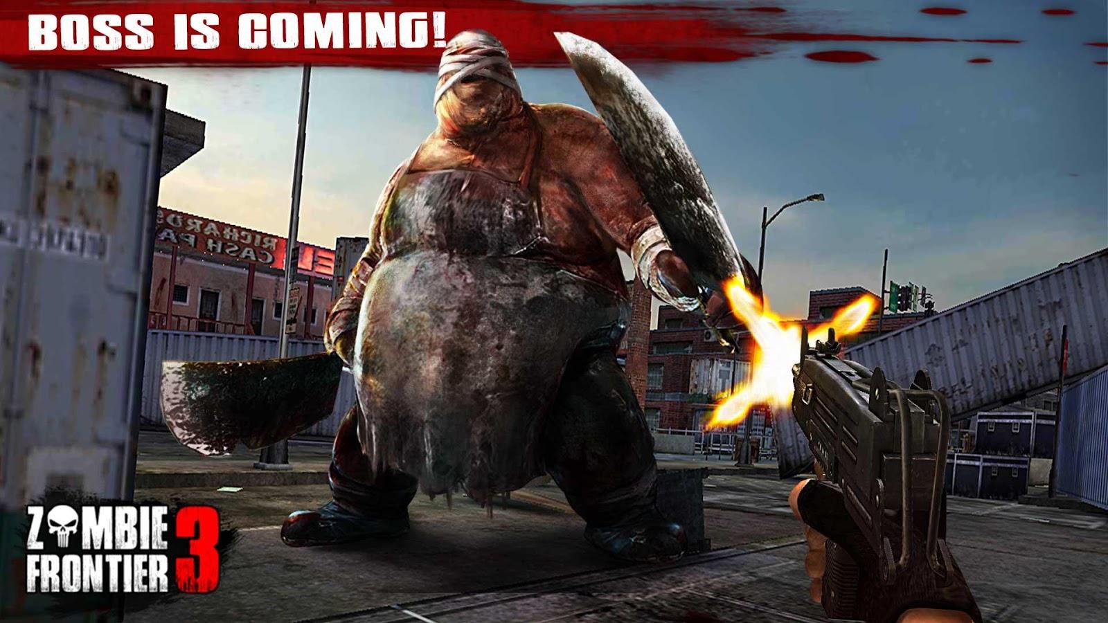 Zombie Frontier 3 boss