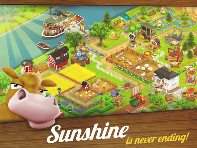 hay Day sunshine