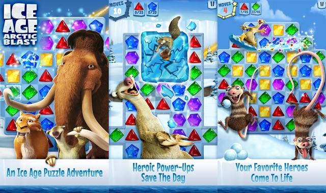 Ice Age Arctic Blast game