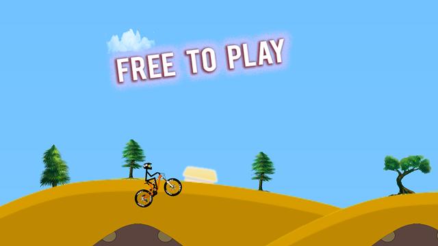 Stunt Hill Biker
