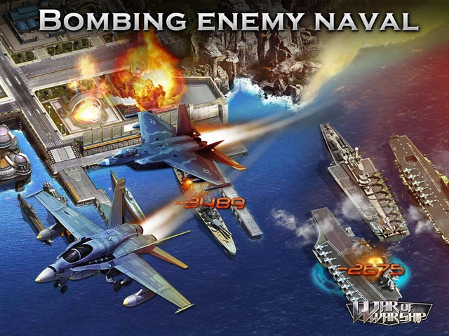 War of Warships Pacific