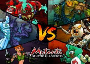 Mutants: Genetic Gladiators FOR PC WINDOWS (10/8/7) AND MAC