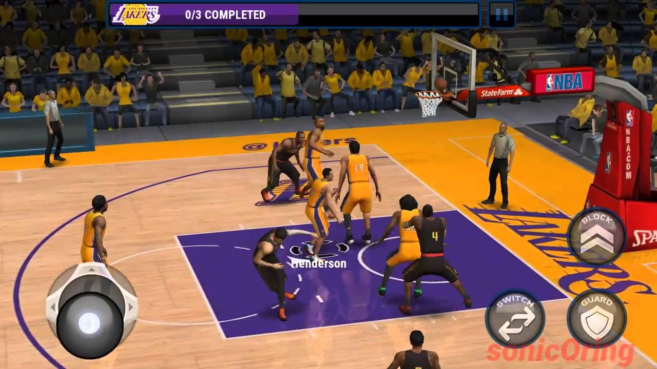 NBA Live Mobile pc