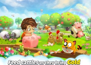 Cube Farm 3D Skyland Craft for PC Windows and MAC Free Download