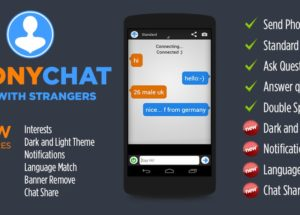 AnonyChat – Chat for Omegle for PC Windows and MAC Free Download