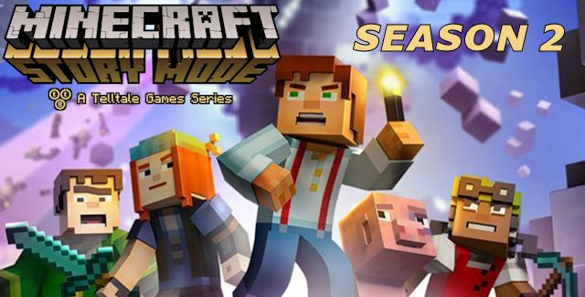 Minecraft Story Mode - Season Two for Windows 10/ 8/ 7 or