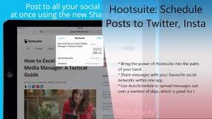 Hootsuite Schedule Posts for Twitter & Instagram for PC Windows and MAC Free Download