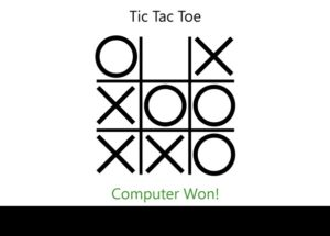 TicTacToe for Windows 10/ 8/ 7 or Mac