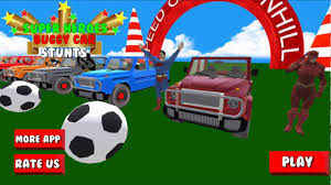 Superheroes Buggy Car Stunts 3D for Windows 10/ 8/ 7 or Mac